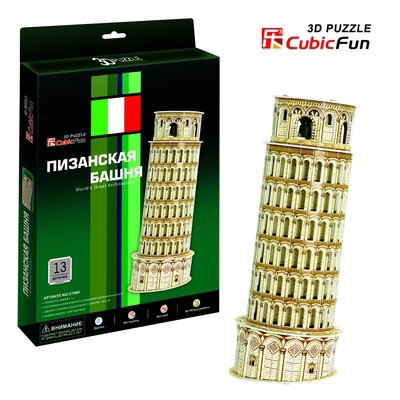 Пазлы 3D архитектура Пизанская башня