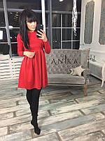 Качественное женское трикотажное платье от СтильноМодно