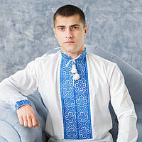 Вишиванка чоловіча з ручною вишивкою (різні варіанти), фото 1
