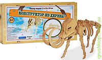 """Деревянный конструктор """"Мамонт"""" (19 элементов), ST"""