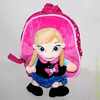 """Www Рюкзак М """"Фр"""" розовый, светлые волосы"""