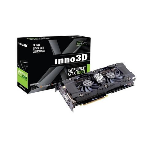 Видеокарта Inno3D GeForce GTX 1080 Twin X28GB GDDR5X N10801SDNP6DN(N1080-1SDN-P6DN), фото 2