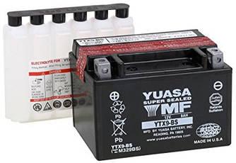 Надійний мотоаккумулятор YTX9-BS гелевий 150 мм x 87 мм x 105 мм YUASA