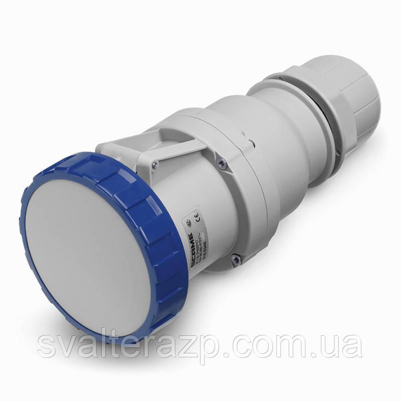 Розетка переносная Scame 125A 230V 2P+PE IP-67 (Optima)