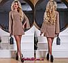 Нарядное Платье +Изысканная Вышивка Кофейное  р.44-50