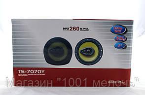 Автоколонки TS 7070Y 260w 6!Опт, фото 3