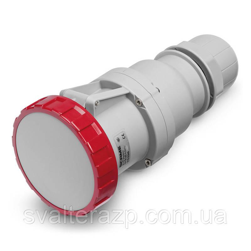 Розетка переносная Scame 125A 380V 3P+PE IP-67 (Optima)