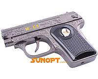 Зажигалка сувенирная Пистолет M-69 (Турбо пламя) №XT-1609 Black