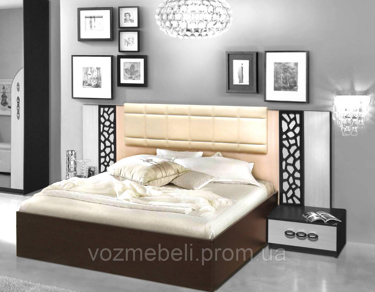 Кровать 160 с каркасом Селеста /МастерФорм/