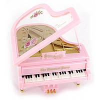 Рояль с танцующими клавишами и музыкой заводной (11,5х11х7 см)