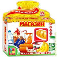 """Мягкие магниты """"Магазин"""", Vladi Toys"""