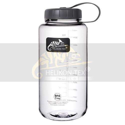 Бутылка Helikon Tritan на 1 литр ударопрочная  Black (HY-WM1-TT-01)