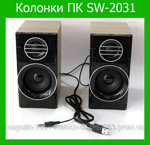 Колонки для для компьютера SPS SW-2031!Опт, фото 2
