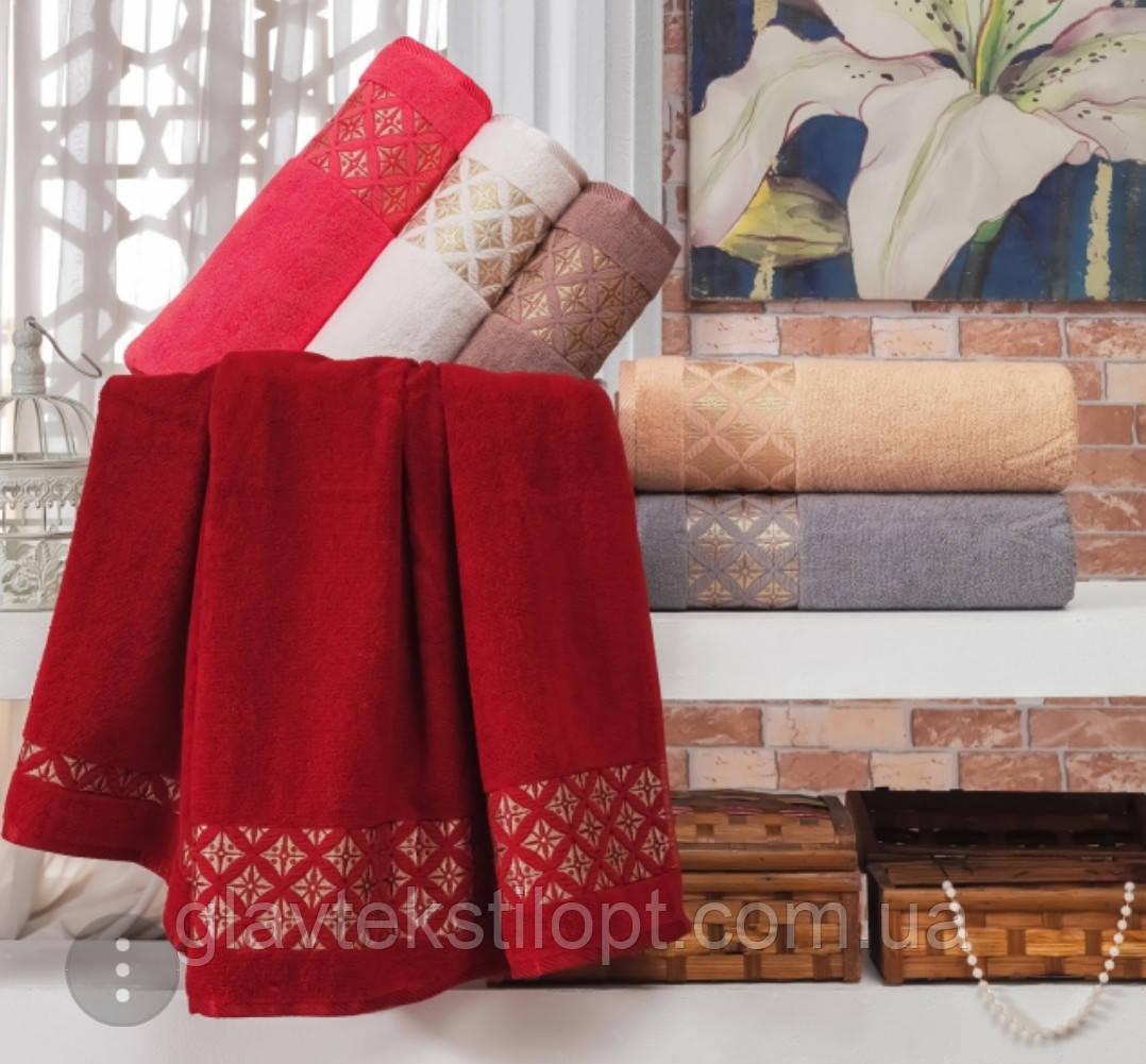 Махровий рушник 70*140 Julie Vip Cotton Туреччина