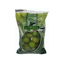Оливки зеленые с косточкой Vittoria 500 g