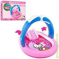 Игровой центр Hello Kitty,с горк,надувн арка,подстилка,в кор-ке