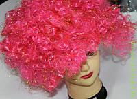 Карнавальный парик, кудряшки с блестками