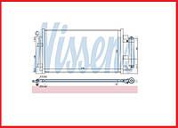 Радиатор кондиционера NISSENS Nissan Leaf ZE0 (10-13)