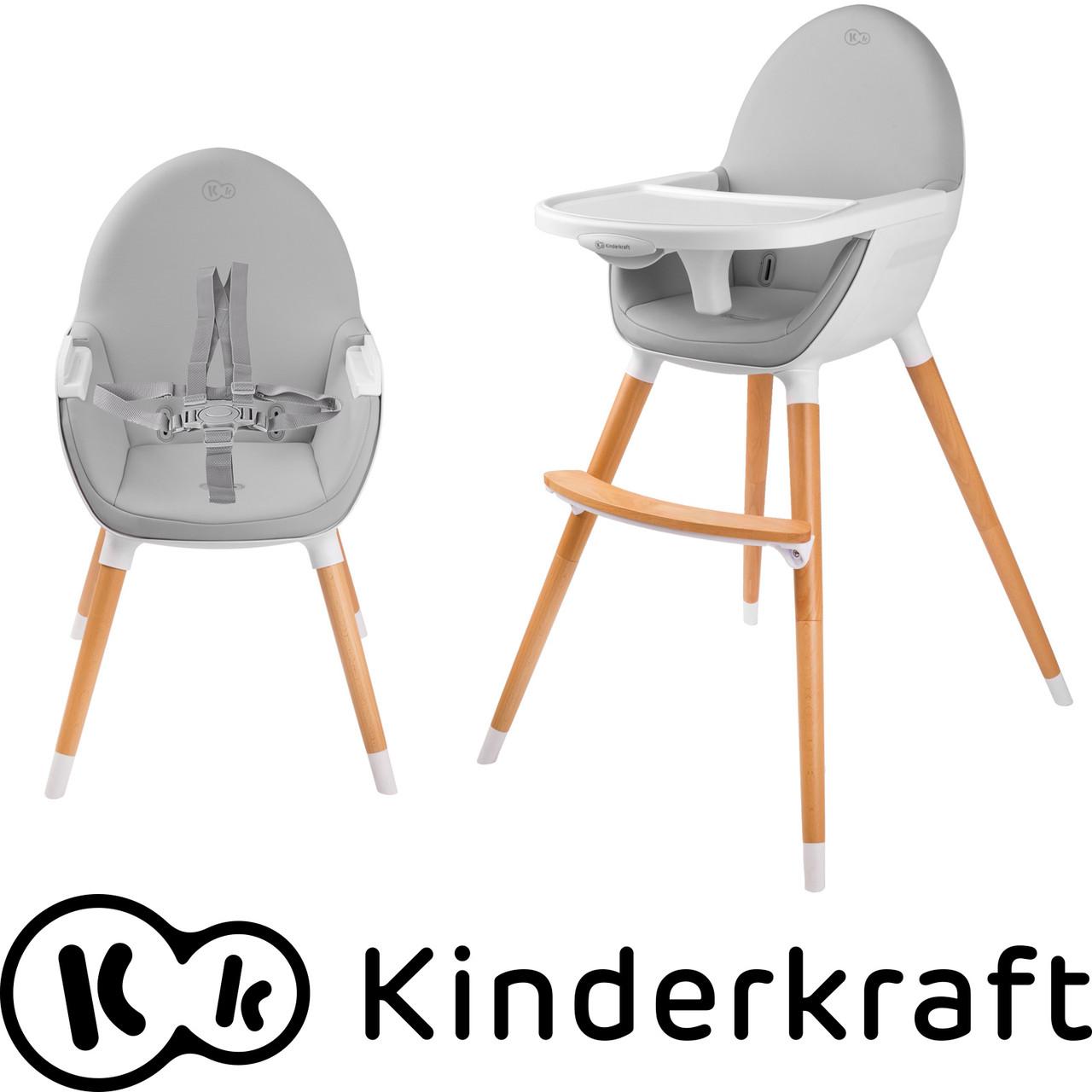 Стульчик для кормления FINI Kinderkraft 2в1