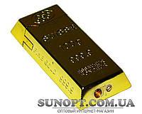 Зажигалка карманная слиток золота №3508