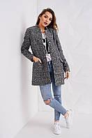 Женское пальто Stimma Валери 1802 S темно-серый