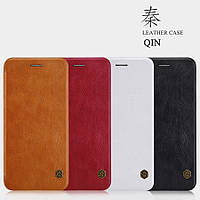"Кожаный чехол (книжка) Nillkin Qin Series для Apple iPhone 7 plus / 8 plus (5.5"")"