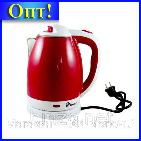 Электрочайник DOMOTEC MS-5023R красный!Лучший подарок