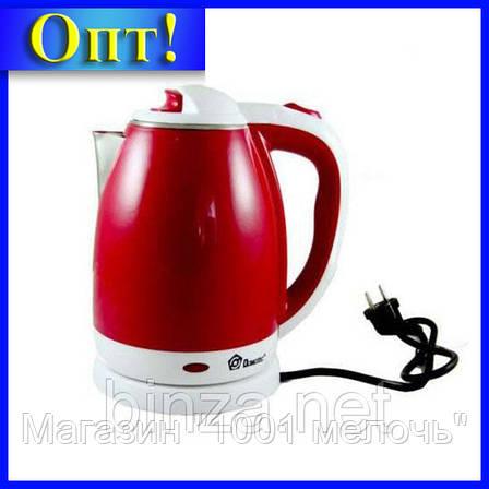 Электрочайник DOMOTEC MS-5023R красный!Лучший подарок, фото 2