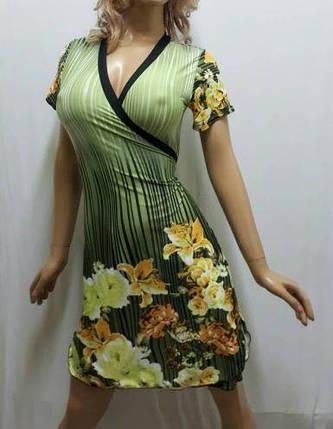 Купить домашний халат из микромасла на запах, размеры от 44 до 50, Украина, фото 2