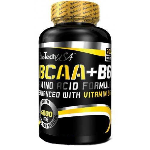 BCAA + B6 / 200 таблеток