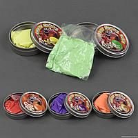 Жвачка для рук С 23188 /ЦЕНА ЗА 1 ШТУКУ/ (360) 5 цветов, ПЕРЛАМУТРОВАЯ, 50 грамм, 12шт в упаковке