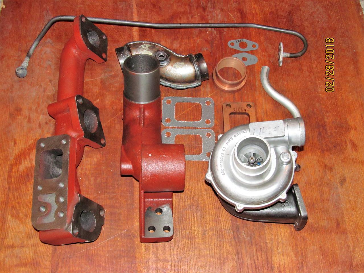 К-т для переоборудования МТЗ (Д-240) под турбокомпрессор (минимальный)
