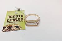 Кольцо печатка, золото 585 с одним бриллиантом. Вес 4,91 грамм. Размер 20.