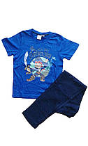 Пижама трикотажная для мальчика, размеры 110/116, Lupilu, арт. 847