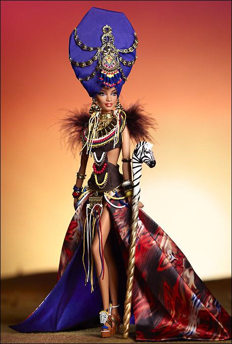 Коллекционная кукла Барби Краса Племени / Tribal Beauty Barbie X8262 Mattel