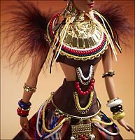 Коллекционная кукла Барби Краса Племени / Tribal Beauty Barbie X8262 Mattel, фото 3