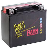 Надежный аккумулятор для мототехники Fiamm 12 вольт 12 ампер (152х88х147) FTX14-BS