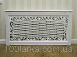 Экраны (короба) на батареи отопления, резная решетка №55