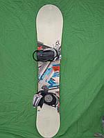 Сноуборд Atomic piq 160 см + нове кріплення