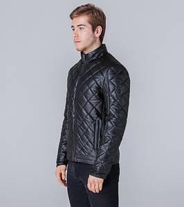 Ajento | Оптом | Куртка из экокожи весна-осень 11543  черный