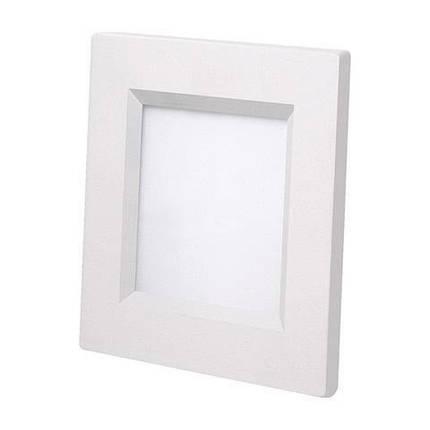 Светодиодный светильник Horoz (HL684L) 6W 3000K квадрат белый (потолочный) Код.56480, фото 2