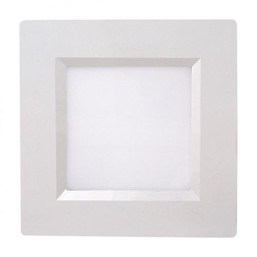 Светодиодный светильник Horoz (HL685L) 12W 6000K квадрат. белый (потолочный) . Код.56209