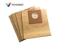 Мешки  бумажные 4шт  Filtero эконом для пылесосов BORK, ELENBERG, ROLSEN, SCARLETT, HOOVER код FLY 02(4)