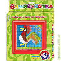 Іграшка набір для дитячої творчості «Вишиваночка ТехноК» Петушок