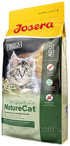 Акция Корм Josera йозера NatureCat натюркет 10 кг корм для кошек с чувствительным пищеварением беззерновой, фото 2