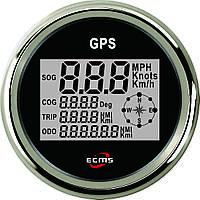 GPS спидометр мультиэкран ECMS (черный), фото 1