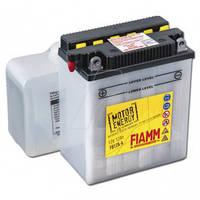 Современный аккумулятор для мототехники Fiamm 12 вольт 12 ампер, размер 136х82х161 FB12A-A