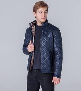 Ajento | Оптом | Куртка экокожа весенне-осенняя 11543 темно-синий