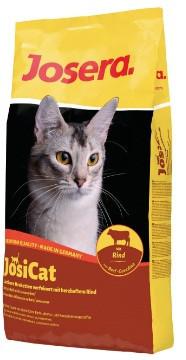 Акция Корм Josera йозера JosiCat Йозикэт 18 кг корм для взрослых кошек с говядиной