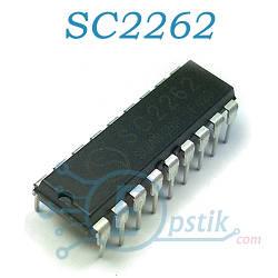 SC2262, (PT2262), Беспроводной декодер, DIP18